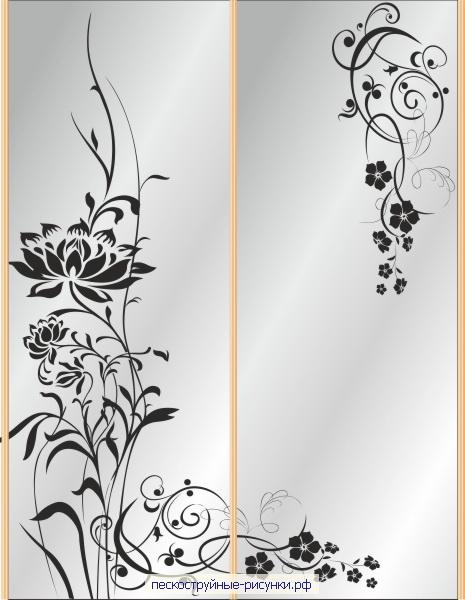 Трафареты для декора своими руками шаблоны на двери 56